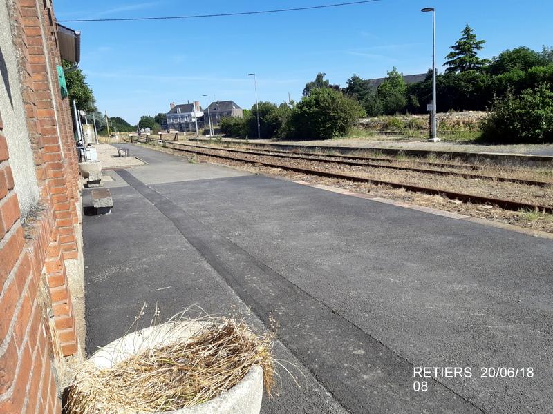 Ligne Rennes-Châteaubriant : Retiers Terminus (balade sur Janzé, Retiers 20/06/18) 20180645