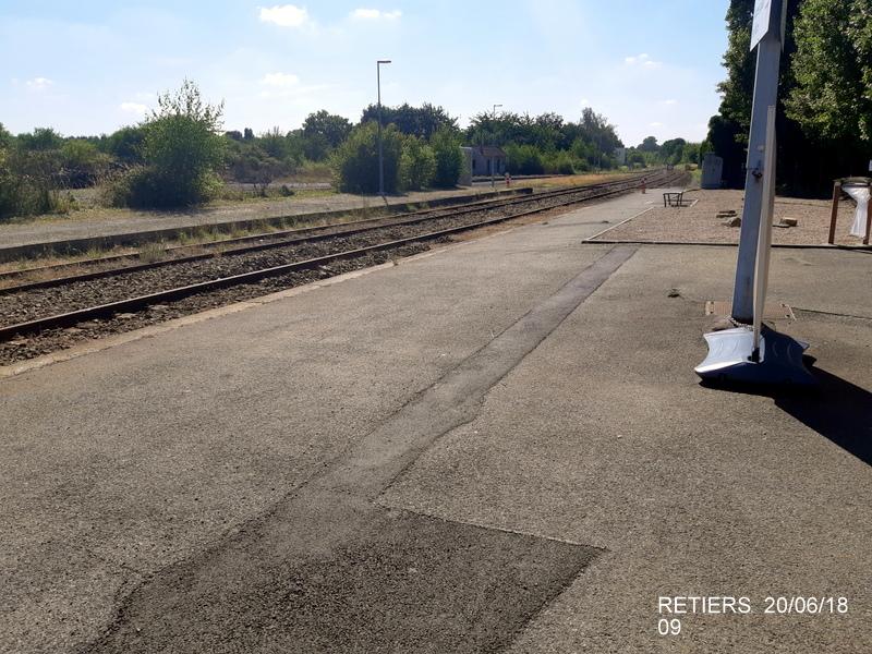 Ligne Rennes-Châteaubriant : Retiers Terminus (balade sur Janzé, Retiers 20/06/18) 20180647