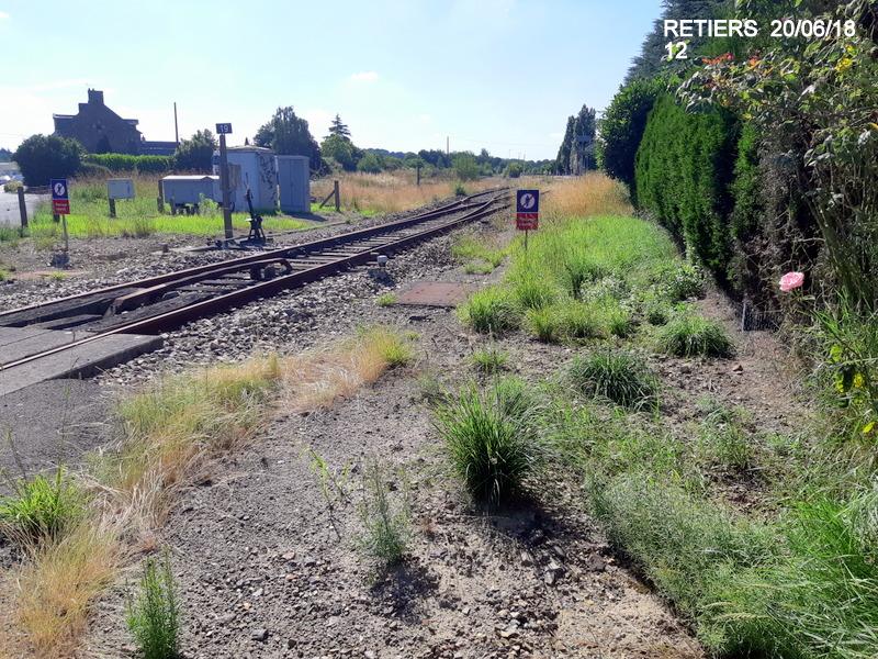 Ligne Rennes-Châteaubriant : Retiers Terminus (balade sur Janzé, Retiers 20/06/18) 20180650