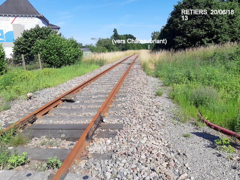 Ligne Rennes-Châteaubriant : Retiers Terminus (balade sur Janzé, Retiers 20/06/18) 20180651