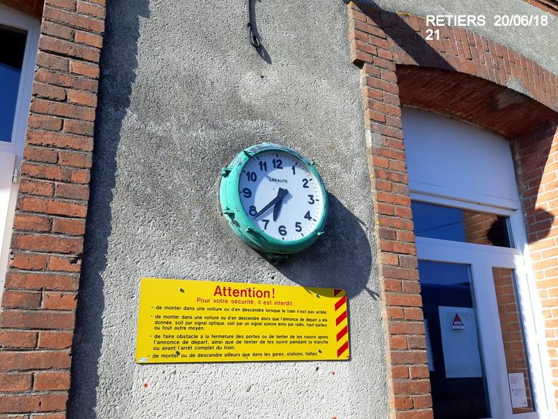 Ligne Rennes-Châteaubriant : Retiers Terminus (balade sur Janzé, Retiers 20/06/18) 20180659
