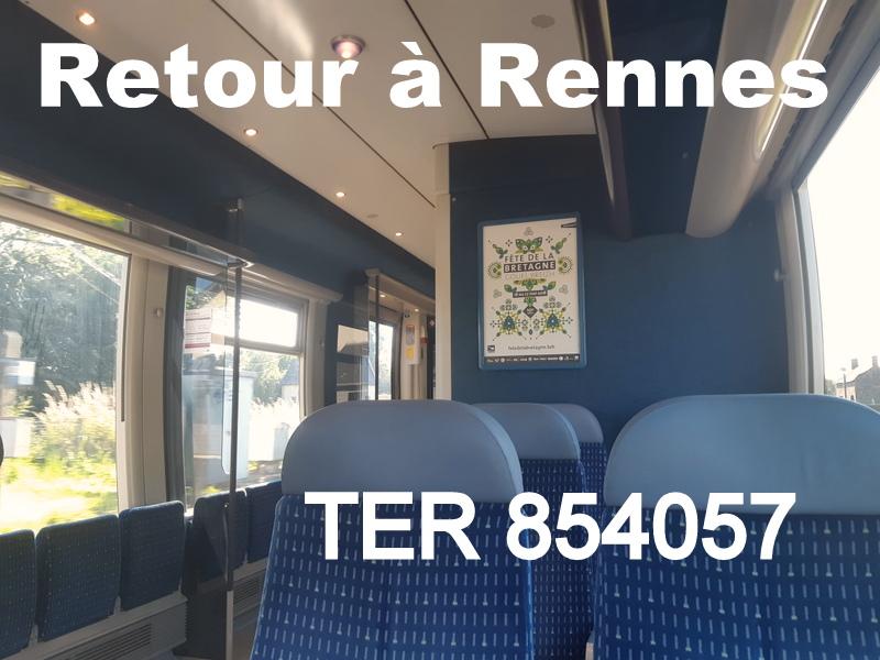 Ligne Rennes-Châteaubriant : Retiers Terminus (balade sur Janzé, Retiers 20/06/18) 20180666