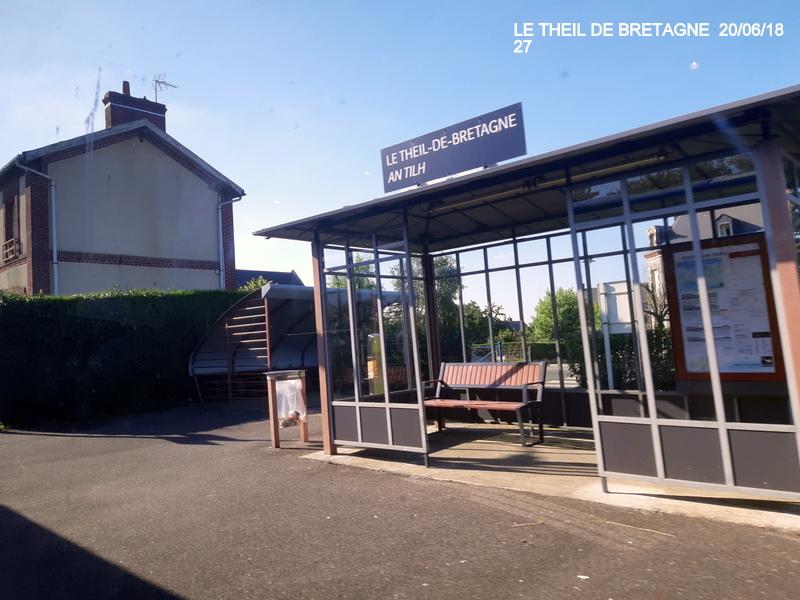 Ligne Rennes-Châteaubriant : Retiers Terminus (balade sur Janzé, Retiers 20/06/18) 20180667