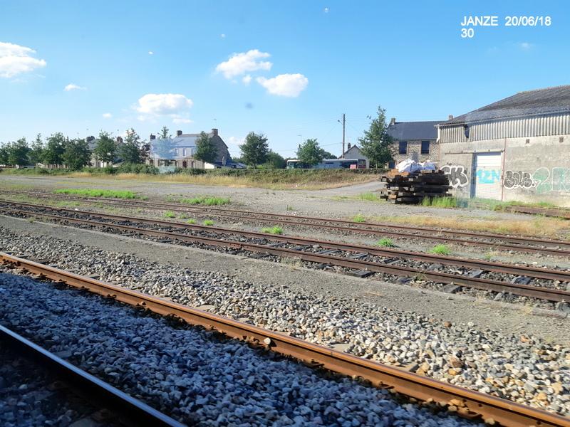 Ligne Rennes-Châteaubriant : Retiers Terminus (balade sur Janzé, Retiers 20/06/18) 20180671