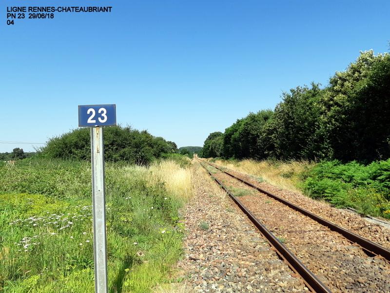 RETIERS -CHATEAUBRIANT : une ligne coupée depuis septembre 2017 20180698
