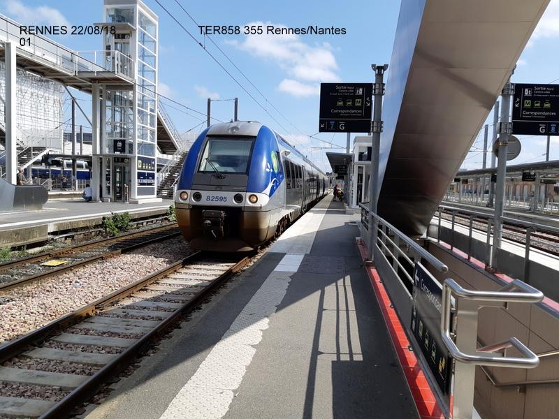 Petite balade Nantes 22/08/18 : Gare et chantier ligne A Tram 20180850