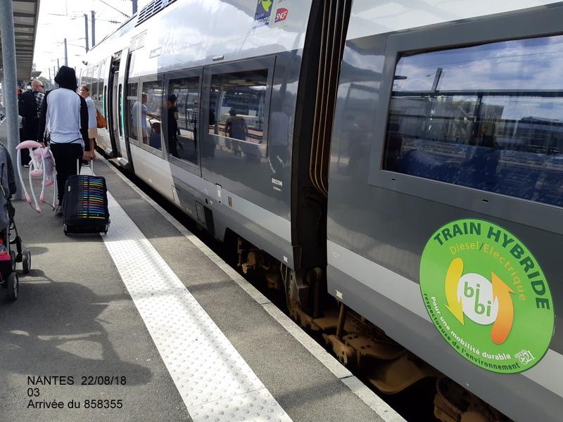 Petite balade Nantes 22/08/18 : Gare et chantier ligne A Tram 20180852