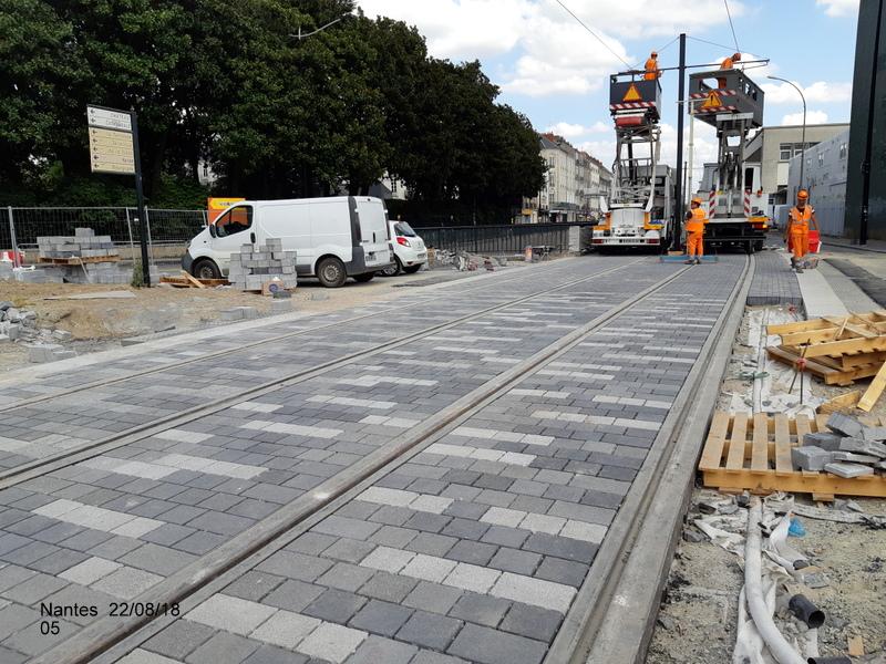 Petite balade Nantes 22/08/18 : Gare et chantier ligne A Tram 20180854