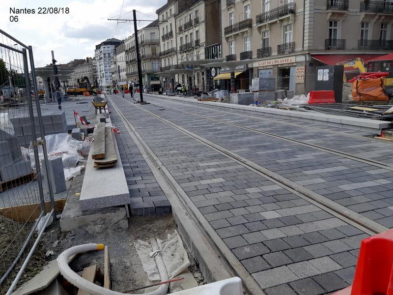 Petite balade Nantes 22/08/18 : Gare et chantier ligne A Tram 20180855