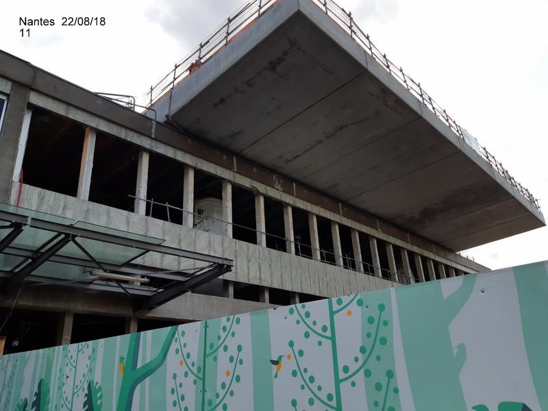 Petite balade Nantes 22/08/18 : Gare et chantier ligne A Tram 20180860