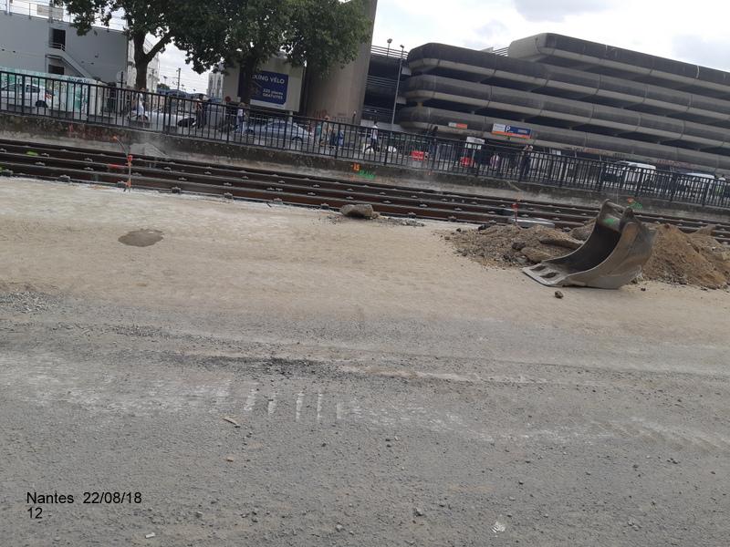Petite balade Nantes 22/08/18 : Gare et chantier ligne A Tram 20180861