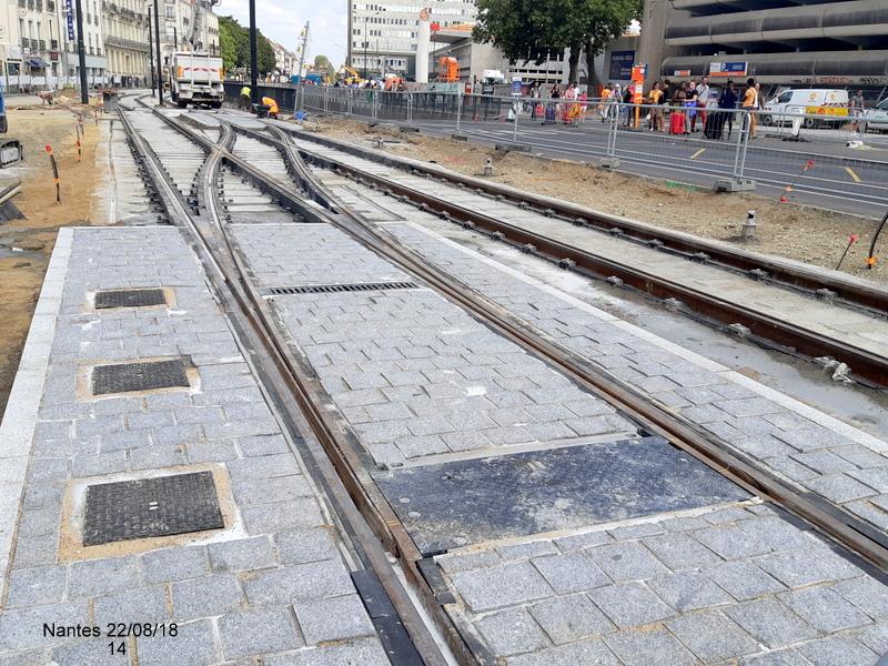 Petite balade Nantes 22/08/18 : Gare et chantier ligne A Tram 20180863
