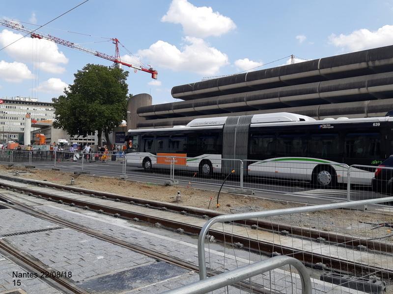 Petite balade Nantes 22/08/18 : Gare et chantier ligne A Tram 20180864