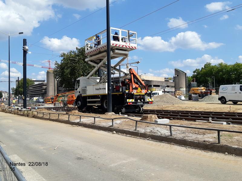 Petite balade Nantes 22/08/18 : Gare et chantier ligne A Tram 20180865