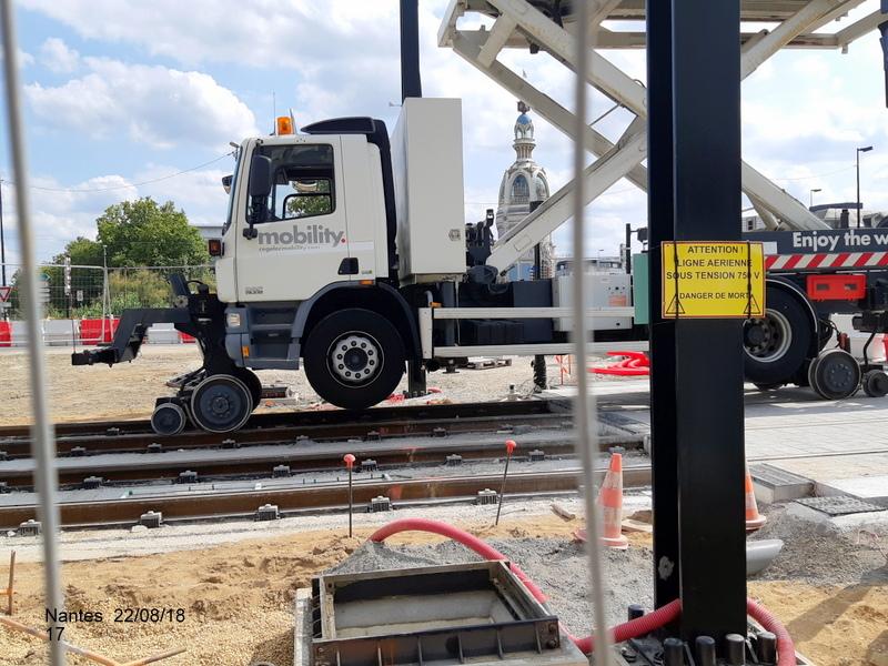 Petite balade Nantes 22/08/18 : Gare et chantier ligne A Tram 20180866