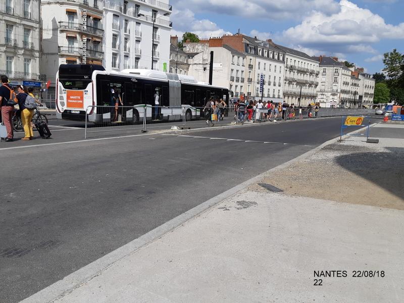 Petite balade Nantes 22/08/18 : Gare et chantier ligne A Tram 20180871