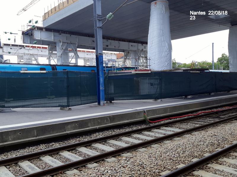 Petite balade Nantes 22/08/18 : Gare et chantier ligne A Tram 20180873