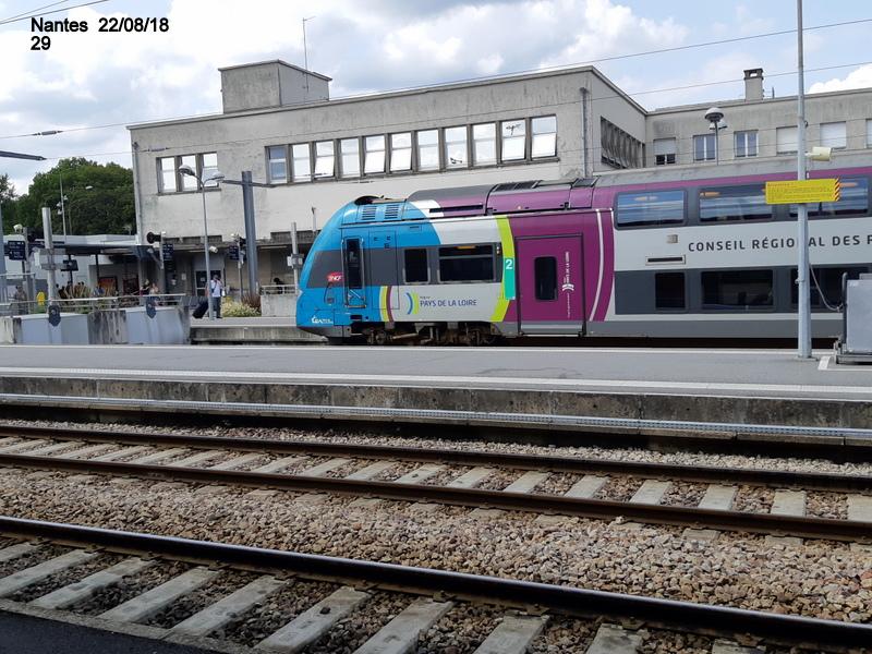 Petite balade Nantes 22/08/18 : Gare et chantier ligne A Tram 20180879