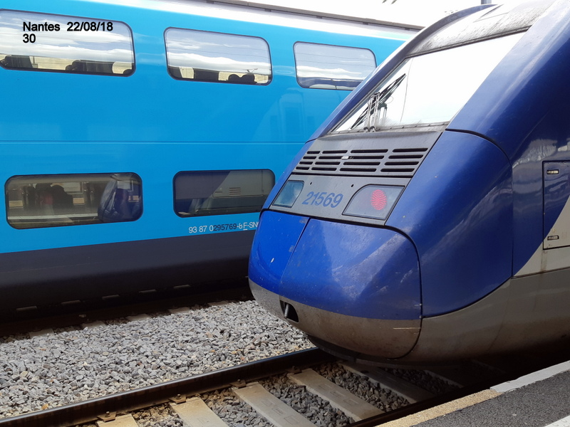 Petite balade Nantes 22/08/18 : Gare et chantier ligne A Tram 20180880