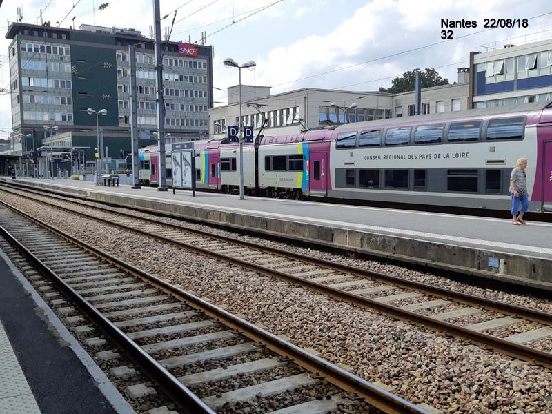 Petite balade Nantes 22/08/18 : Gare et chantier ligne A Tram 20180882