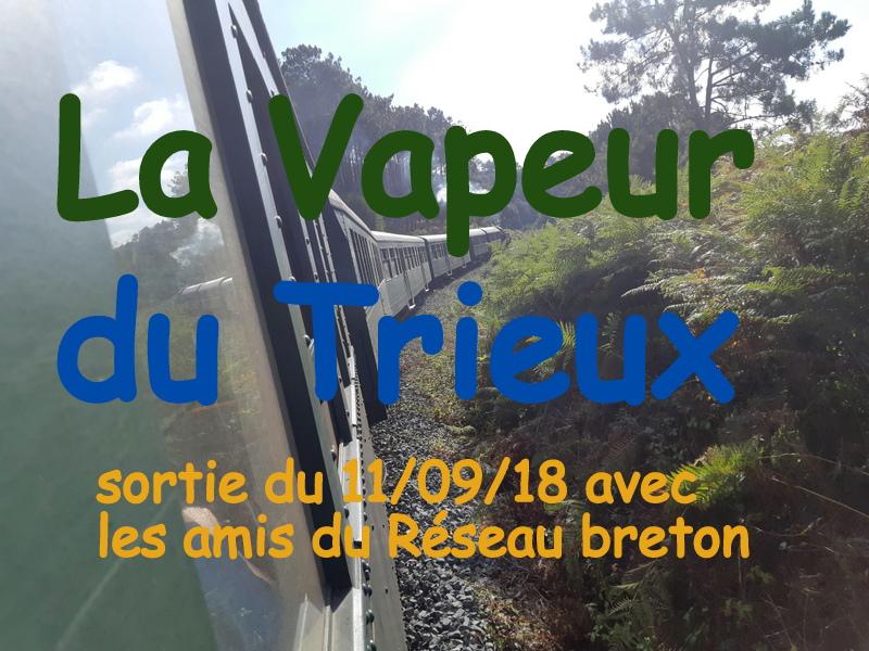 """DOSSIER 05 """" La Vapeur du Trieux """" balade du  11/09/2018 20180978"""