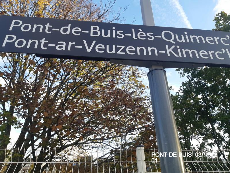 PANG de Pont de Buis (ligne Quimper-Brest). 20181140