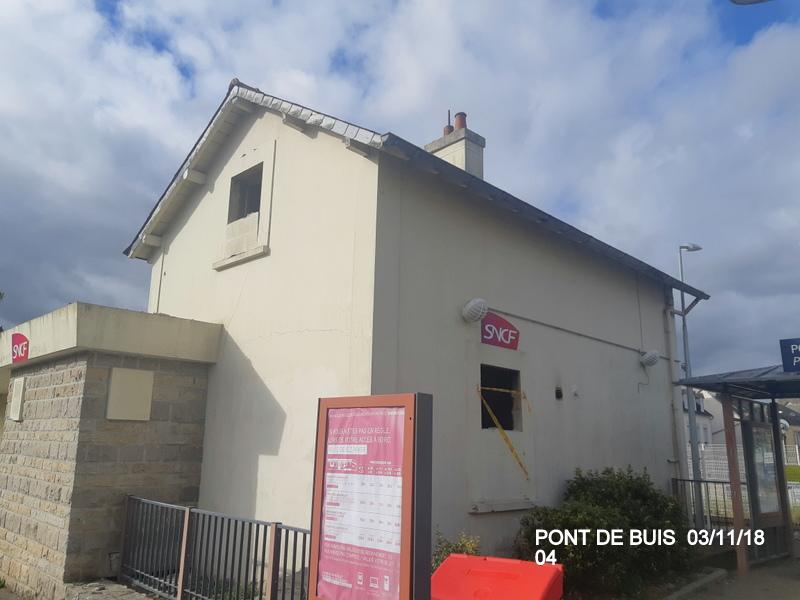 PANG de Pont de Buis (ligne Quimper-Brest). 20181143