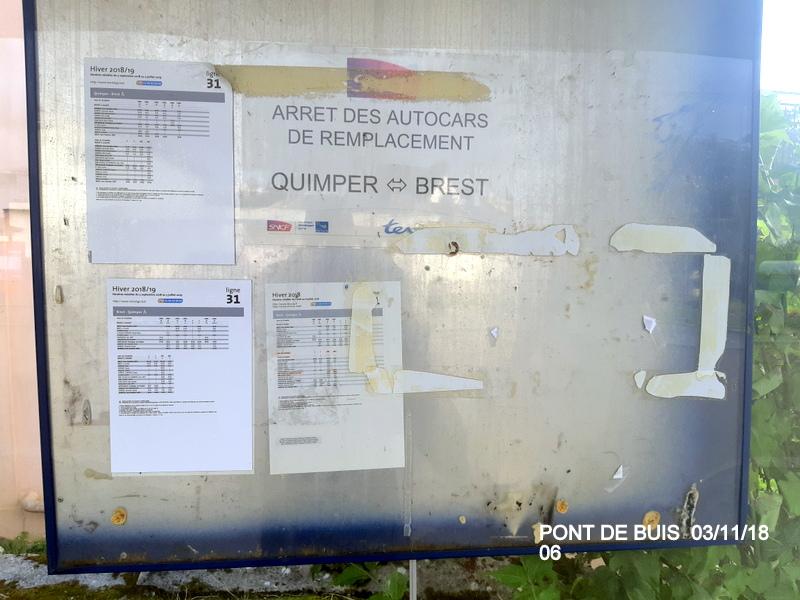 PANG de Pont de Buis (ligne Quimper-Brest). 20181145