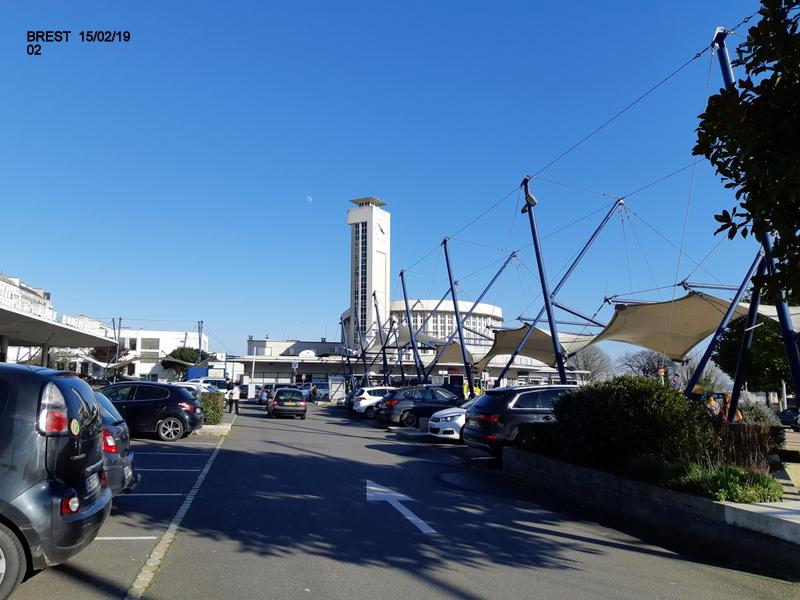 Balade Brest (TER-Tram et Téléphérique) 30/01/19 20190317