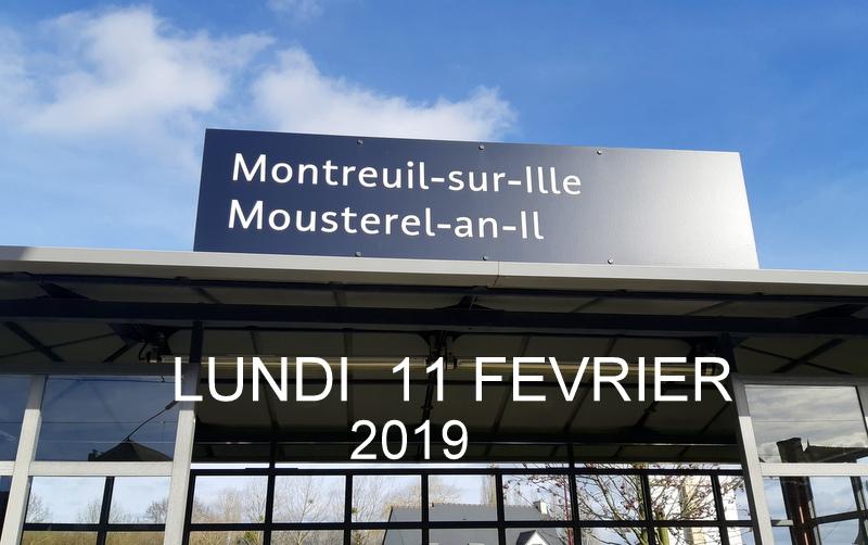 Ligne Rennes-St Malo. Montreuil/Ille  11/02/19 20190332