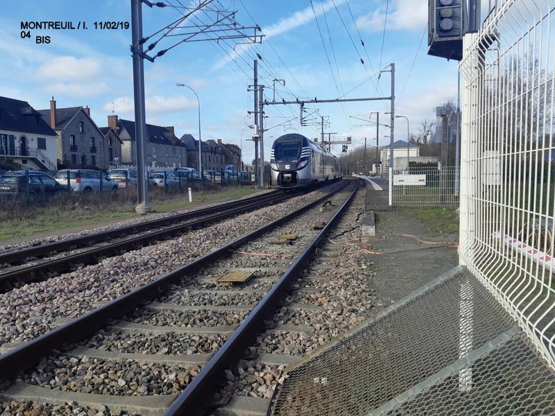 Ligne Rennes-St Malo. Montreuil/Ille  11/02/19 20190337