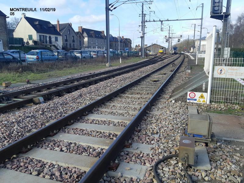 Ligne Rennes-St Malo. Montreuil/Ille  11/02/19 20190338
