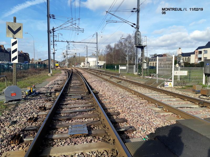 Ligne Rennes-St Malo. Montreuil/Ille  11/02/19 20190339