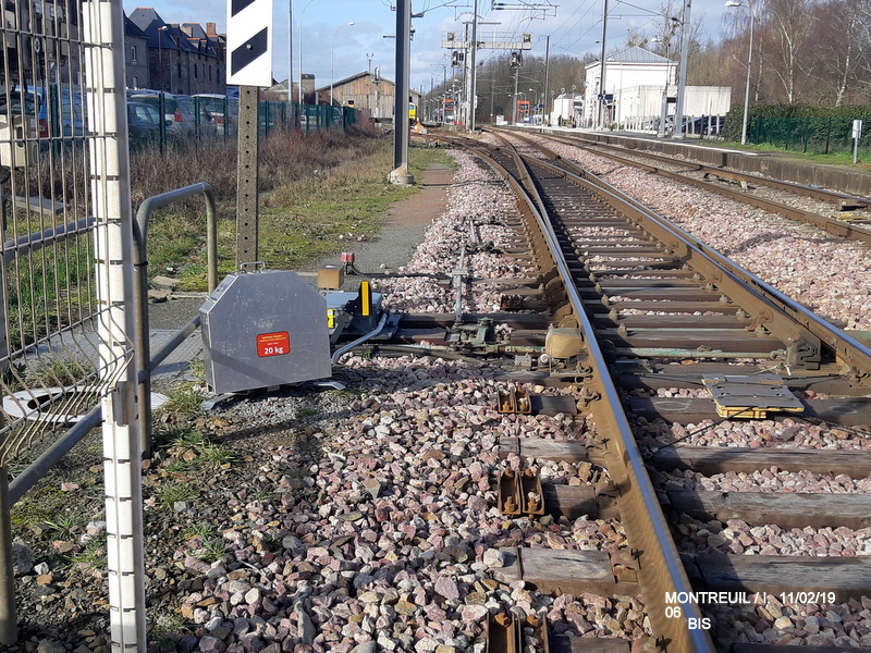 Ligne Rennes-St Malo. Montreuil/Ille  11/02/19 20190340