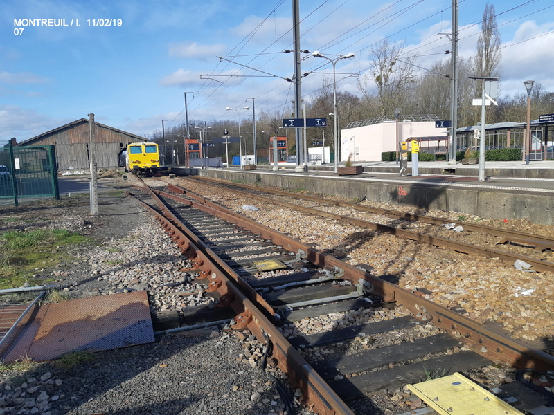 Ligne Rennes-St Malo. Montreuil/Ille  11/02/19 20190341