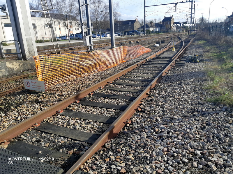 Ligne Rennes-St Malo. Montreuil/Ille  11/02/19 20190342