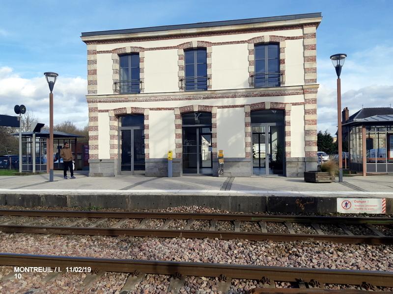Ligne Rennes-St Malo. Montreuil/Ille  11/02/19 20190343