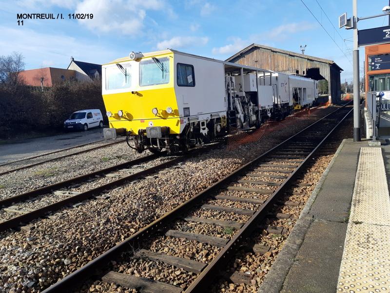 Ligne Rennes-St Malo. Montreuil/Ille  11/02/19 20190344