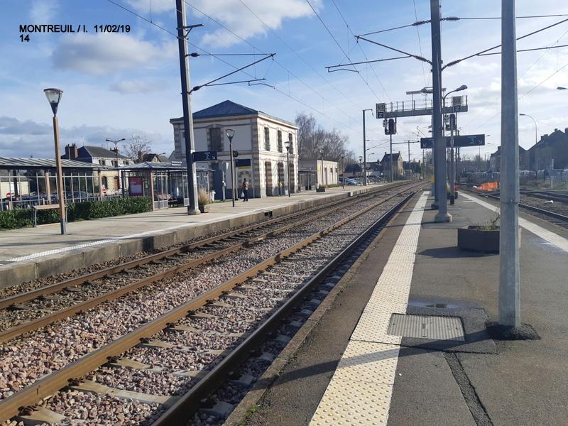 Ligne Rennes-St Malo. Montreuil/Ille  11/02/19 20190347