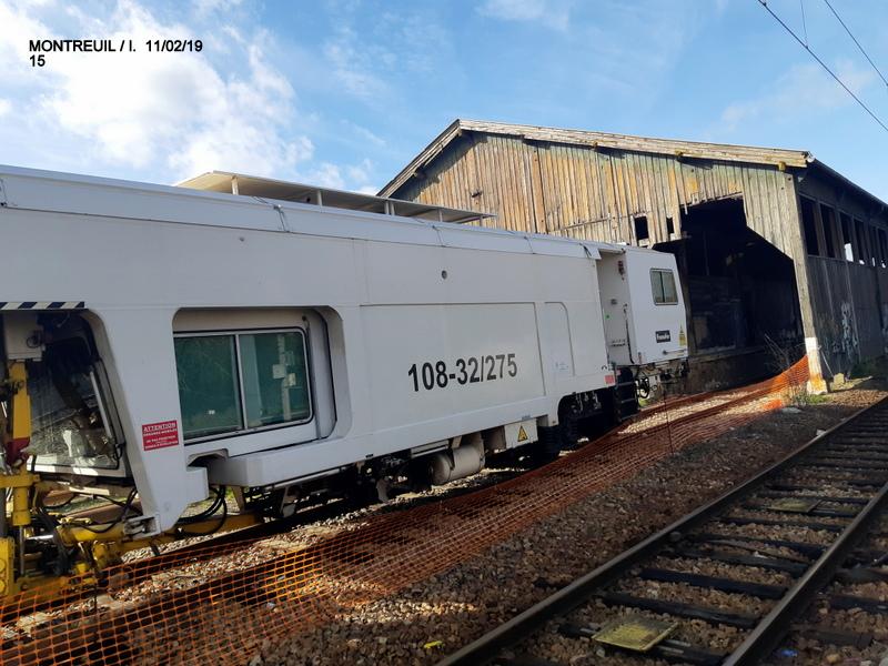 Ligne Rennes-St Malo. Montreuil/Ille  11/02/19 20190349