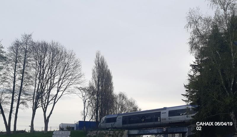 """Carhaix. Le """"berceau"""" de la Mallet 030-030 et de la 141 TB 424 (06/04/2019) 20190504"""