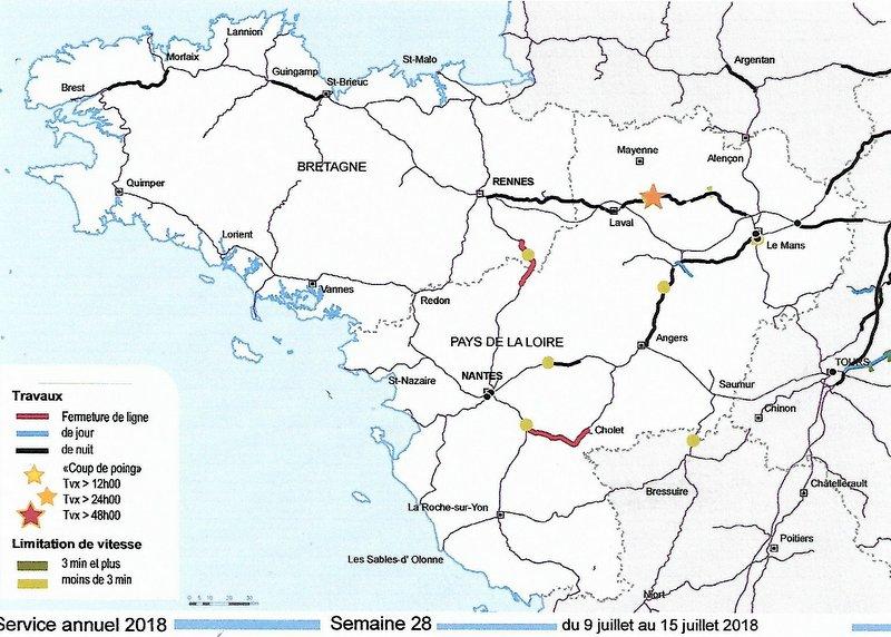 Chantiers  SNCF RESEAU  BRETAGNE-PAYS DE LA LOIRE juillet 2018 Image082