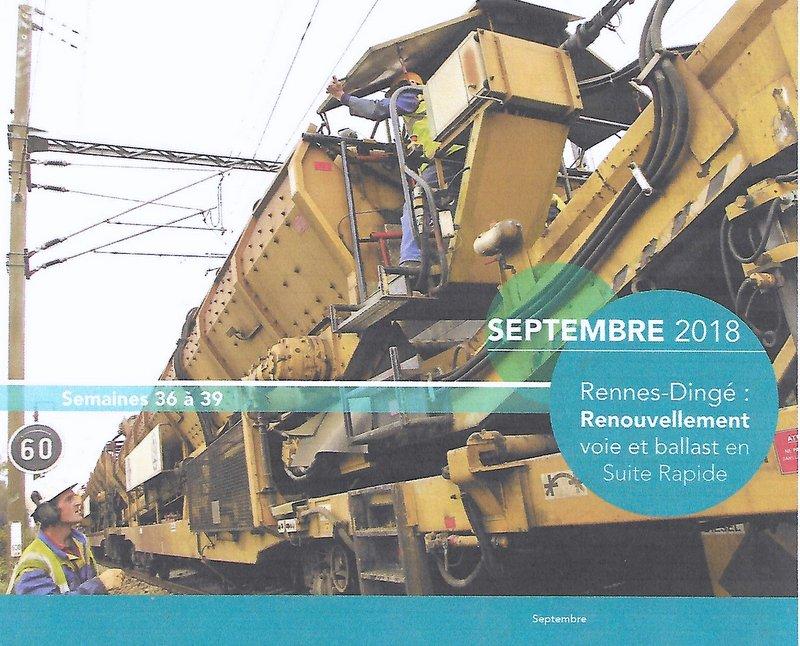 Chantiers SNCF RESEAU Bretagne-Pays de la Loire Septembre 2018 Image113
