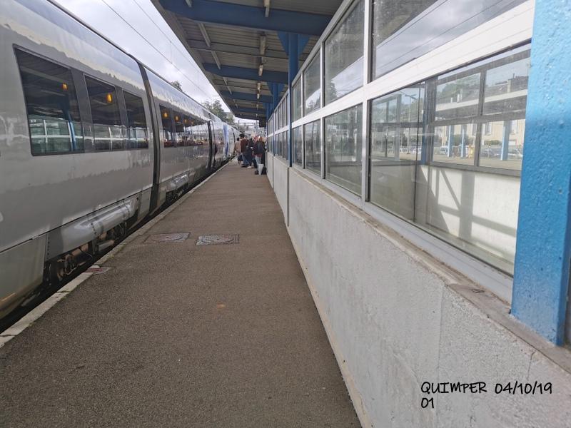 En gare de Quimper le 04/10/19 et le 06/10/19 Img_2255