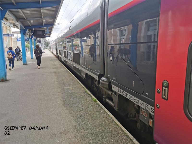 En gare de Quimper le 04/10/19 et le 06/10/19 Img_2256