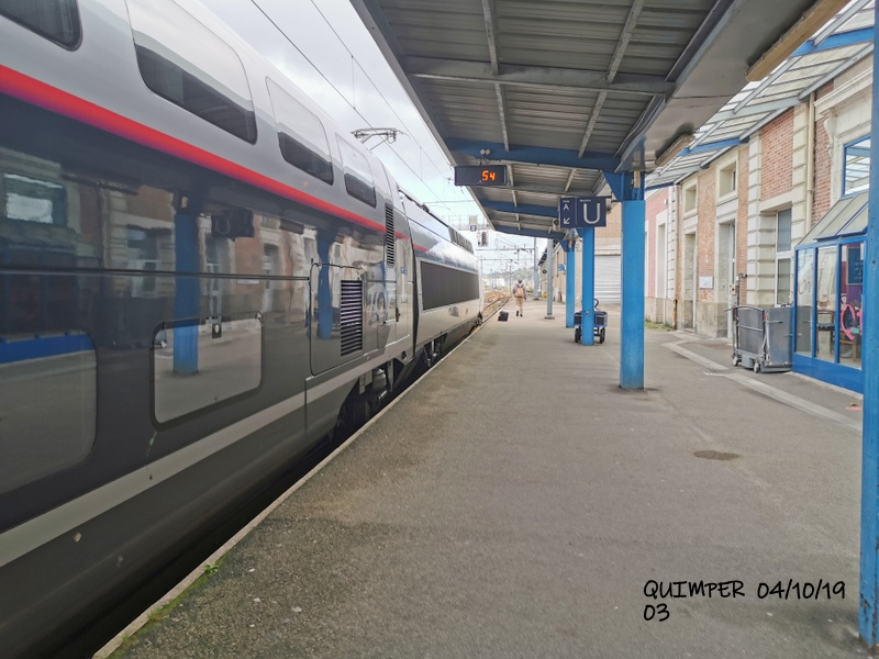 En gare de Quimper le 04/10/19 et le 06/10/19 Img_2257