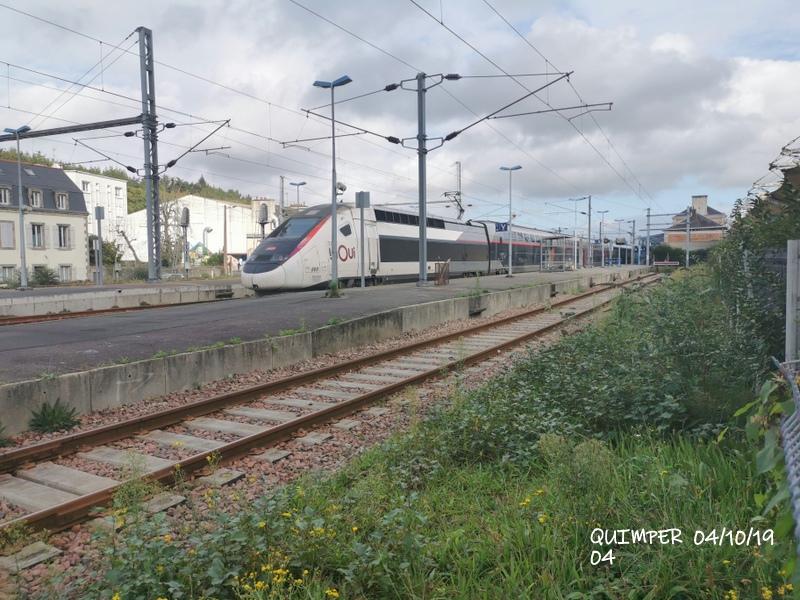 En gare de Quimper le 04/10/19 et le 06/10/19 Img_2258