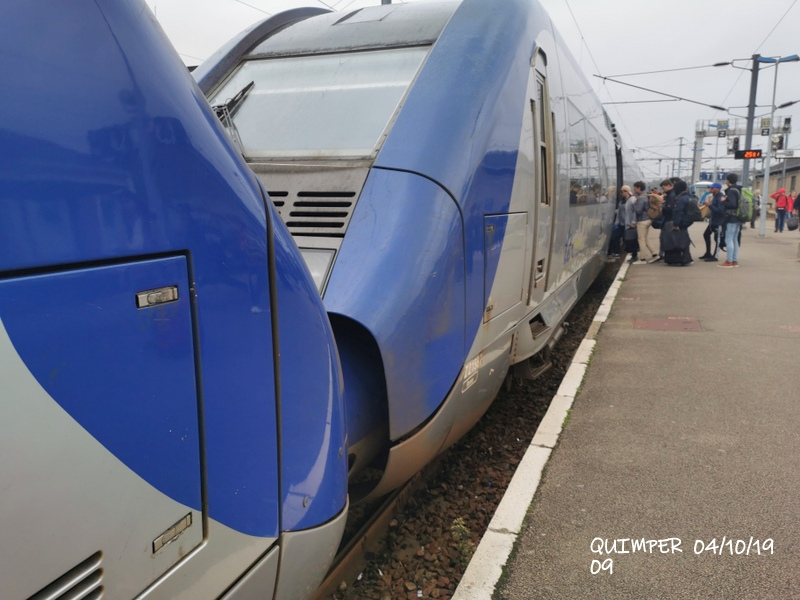 En gare de Quimper le 04/10/19 et le 06/10/19 Img_2263