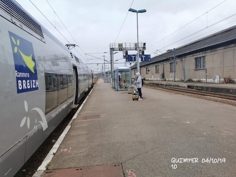 En gare de Quimper le 04/10/19 et le 06/10/19 Img_2264