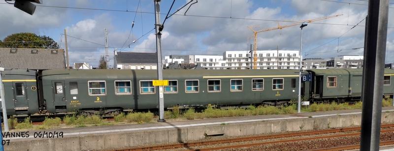 Le train croisière de l'AA06/10/19ARV en gare de Vannes le 06/10/19 Img_2278